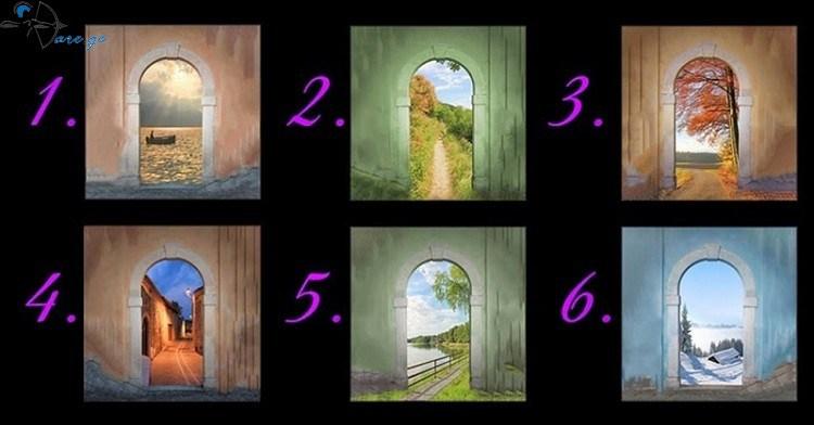 მარტივი ტესტი აირჩიე კარი და გაიგე შენი მომავალი