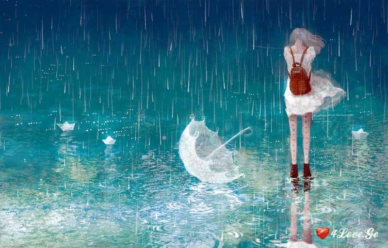 წვიმის წვეთები