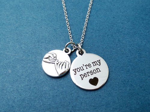შენ ჩემი ადამიანი ხარ!