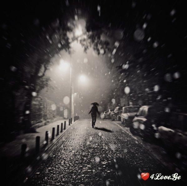 და მე ვიქნები პირველი თოვა...