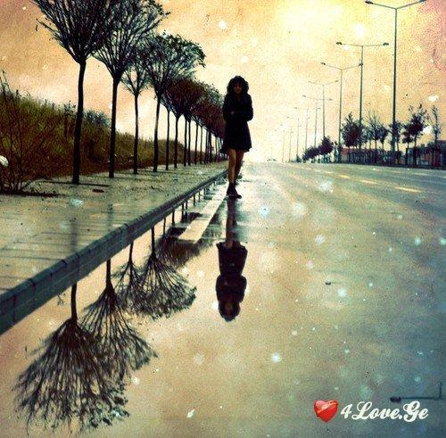 წვიმის წვეთის ბრალია...