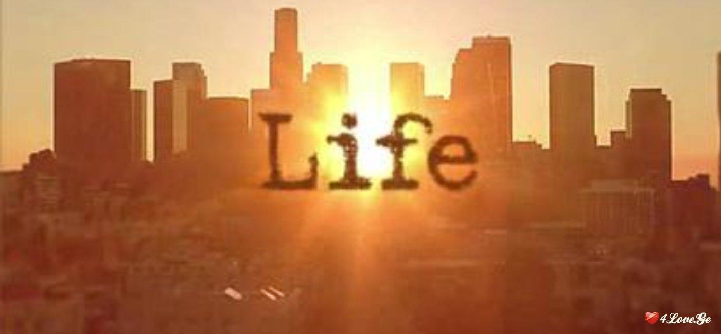 მე და ცხოვრება