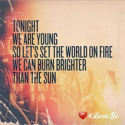 We Are Young (6)