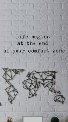 life begins at the end of the comfort zone