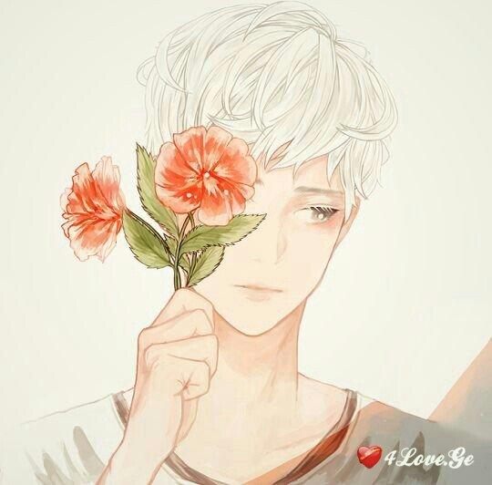 ბიჭი ყვავილების თაიგულით 3 (ეძღვნება 20 ივნისის ღამეს)